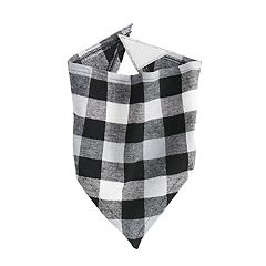 Pet Jammies For Your Families Plaid Bandana