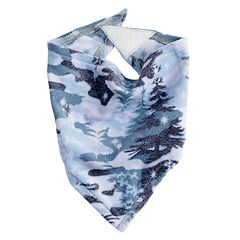 Pet Jammies For Your Families Holiday Camouflage Microfleece Bandana