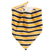 Pet Jammies For Your Families Halloween Microfleece Striped Bandana