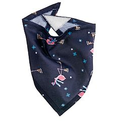 Pet Jammies For Your Families Skating Flamingos Bandana
