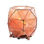 Laura Ashley Lifestyles Geometric Salt Lamp