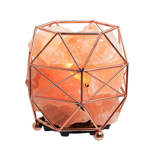 Laura Ashley Lifestyles Geometric Salt Lamp
