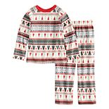 Boys 4-20 Jammies For Your Families Polar Bear Fairisle Family Pajamas Top & Bottoms Set by Cuddl Duds