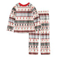 Boys 4-20 Jammies For Your Families Polar Bear Fairisle Family Pajamas Top & Bottoms Set by Cuddl Duds