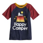 Boys 4-10 Jumping Beans® Snoopy Happy Camper Tee