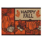 Celebrate Fall Together ''Happy Fall'' Rug - 20'' x 30''