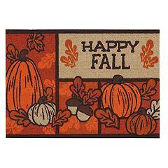 Celebrate Fall Together ''Happy Fall'' Rug - 20'' x 30''