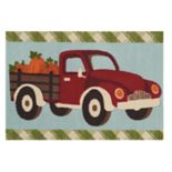 Celebrate Fall Together Pickup Truck Rug - 20'' x 30''