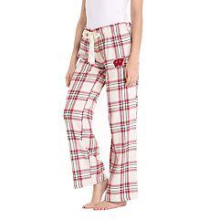 Women's Wisconsin Badgers Flannel Pants