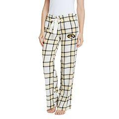 Women's Missouri Tigers Flannel Pants
