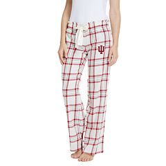 Women's Indiana Hoosiers Flannel Pants