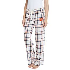 Women's Clemson Tigers Flannel Pants