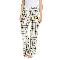 Women's Iowa Hawkeyes Flannel Pants