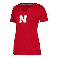 Women's adidas Nebraska Cornhuskers Sideline Sequel Tee
