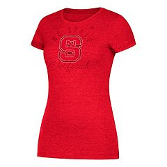 Women's adidas North Carolina State Wolfpack Subtle Shine Tee