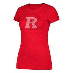 Women's adidas Rutgers Scarlet Knights Subtle Shine Tee