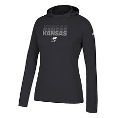 Women's adidas Kansas Jayhawks Repeat Stack Hoodie