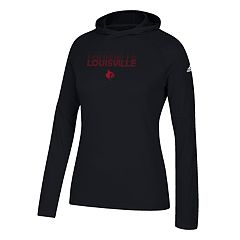 Women's adidas Louisville Cardinals Repeat Stack Hoodie