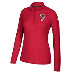 Women's adidas North Carolina State Wolfpack Ultimate Quarter-Zip Tee