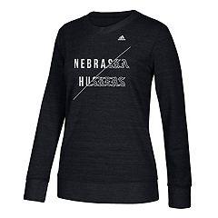 Women's adidas Nebraska Cornhuskers Comfy Crew Tee