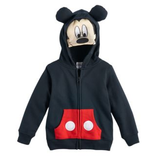 Disney's Mickey Mouse Toddler Boy Costume Mask Zip Hoodie