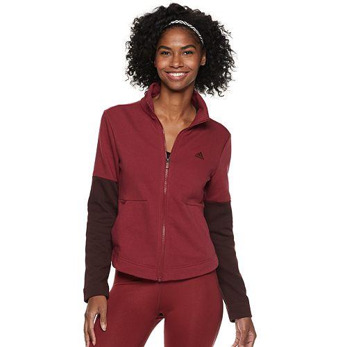 Women's adidas Sport to Street Heathered Track Jacket