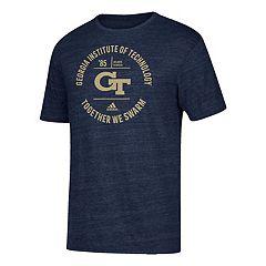 Men's adidas Georgia Tech Yellow Jackets Emblem Tee