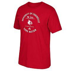 Men's adidas Louisville Cardinals Emblem Tee
