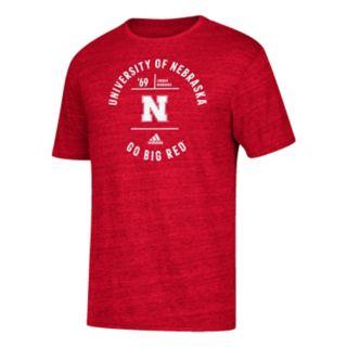 Men's adidas Nebraska Cornhuskers Emblem Tee