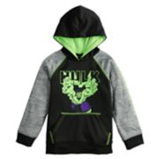 Boys 4-12 Jumping Beans® Marvel The Hulk Raglan Pullover Hoodie