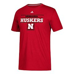 Men's adidas Nebraska Cornhuskers Award Go-To Performance Tee