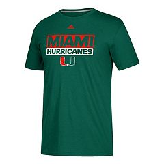 Men's adidas Miami Hurricanes Go-To Performance Tee