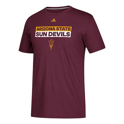 Men's adidas Arizona State Sun Devils Go-To Performance Tee