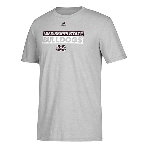 Men's adidas Mississippi State Bulldogs Go-To Performance Tee