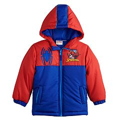 Toddler Boy Marvel Spider-Man Heavyweight Jacket