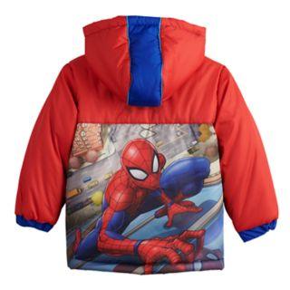 Toddler Boy Marvel Spider-Man Heavyweight Jacket