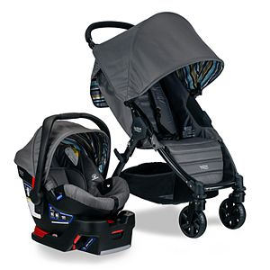 Baby Trend Pathway 35 Jogger Travel System Optic Pink Baby Stroller Car Seat