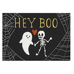Celebrate Halloween Together ''Hey Boo'' Rug - 20'' x 30''