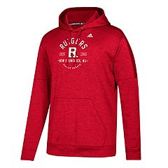Men's adidas Rutgers Scarlet Knights Eastate Team Issue Hoodie