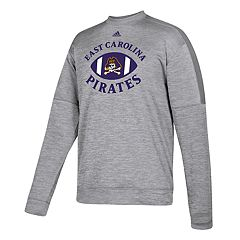 Men's adidas East Carolina Pirates The Gridiron Team Issue Crew Fleece Top