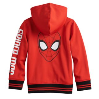Boys 4-12 Jumping Beans® Marvel Spider-Man Zip Hoodie