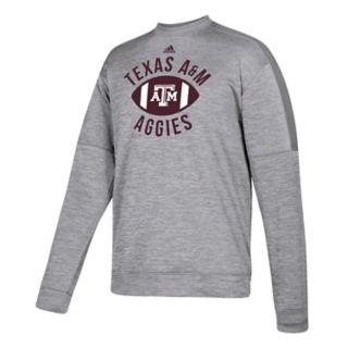 Men's adidas Texas A&M Aggies The Gridiron Team Issue Crew Fleece Top