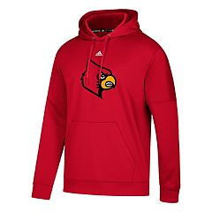 Men's adidas Louisville Cardinals Primary Pride Team Issue Hoodie