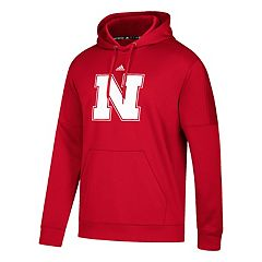 Men's adidas Nebraska Cornhuskers Primary Pride Team Issue Hoodie