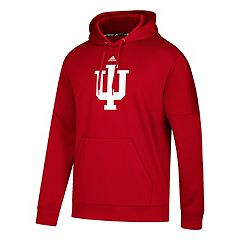 Men's adidas Indiana Hoosiers Primary Pride Team Issue Hoodie