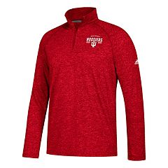 Men's adidas Indiana Hoosiers Total Commitment Ultimate Quarter-Zip Top
