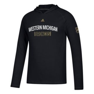 Men's adidas Western Michigan Broncos Lineup Ultimate Hoodie