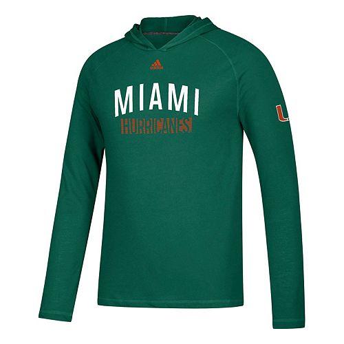 Men's adidas Miami Hurricanes Lineup Ultimate Hoodie