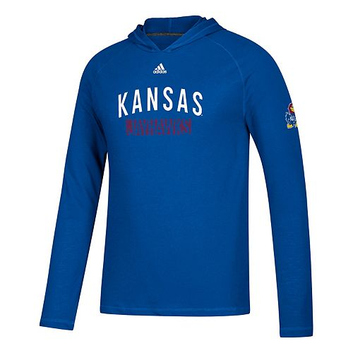 Men's adidas Kansas Jayhawks Lineup Ultimate Hoodie