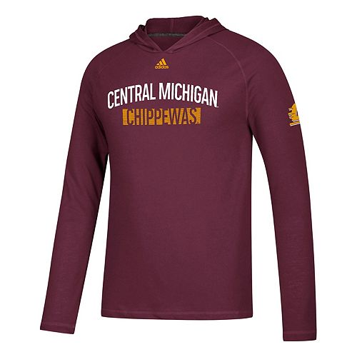 Men's adidas Central Michigan Chippewas Lineup Ultimate Hoodie